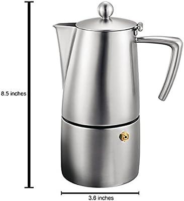 Cuisinox Milano Espresso cafetera: Amazon.es: Hogar