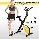 Cyclette-Spin-Bike-Pieghevole-Fitness-Indoor-Bike-Multifuntion-X-Bike-Bici-Fitness-Infinite-Regolazione-della-Resistenza-Color-YellowA-Size-70-41-110cm