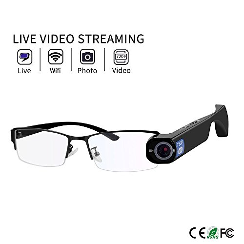 Online Live Stream Camera Glasses 8GB