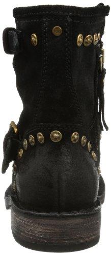 UGG W Fabrizia Studs - Biker Boots mujer negro - negro