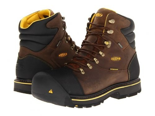 Keen Utility(キーン) メンズ 男性用 シューズ 靴 ブーツ 安全靴 ワーカーブーツ Milwaukee WP Dark Earth [並行輸入品] B07BMDKPT8 8 D Medium