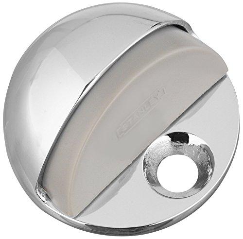 Stanley Hardware Low Rise Floor Doorstop, Chrome #750051