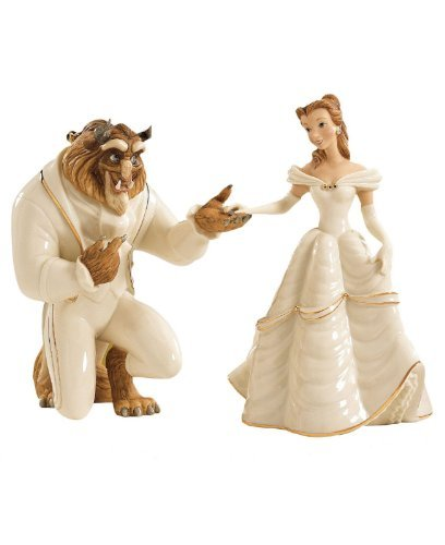 Lenox Disney Beauty and The Beast My Hand My Heart Is Yours Belle Figurines