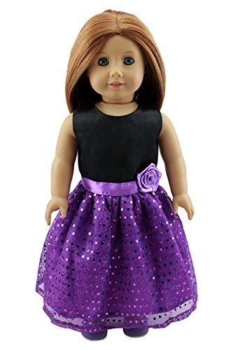 Christmas Gifts Doll Clothes - Pretty Party Dress Fit 18 Inches American Girl Dolls by dreamtoyhouse