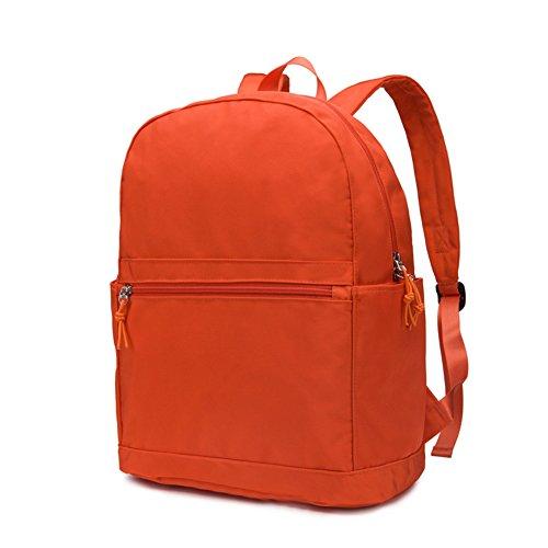Mochila simple/bolsa para hombres y mujeres/Mochila de estilo College/Bolsa de viaje-F F