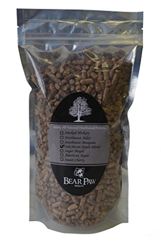 UPC 852675761812, Bear Paw Products Premium Oak-Pecan-Apple Blend Smoker Pellets 1.5 Lb. Bag. Easy to Use With All Types and Brands of Outdoor Grills: Electric, Gas, Charcoal, or Smokers