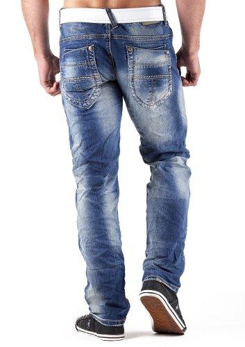 M.O.D Herren Jeans Joshua boron blue 31/32