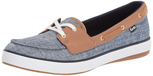 Keds Women's Charter Airy Chambray Sneaker