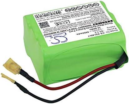 Bater/ía de Ni-Mh CS 8600 mAh, 30,96 Wh, compatible con Sealite SL60 SL70, sustituye a Sealite B8-3.6
