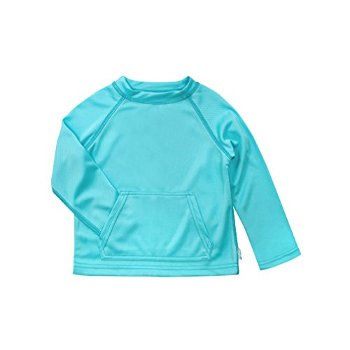 i play. Baby Breatheasy Sun Protection Shirt, Light Aqua, 18-24 Months