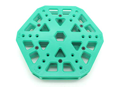 SKB family RotorBits HexCopter Mounting Center (Green)