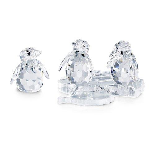 Swarovski Crystal Baby Penguins Figurine
