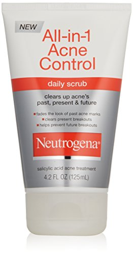 Neutrogena Allin1 Acne Control Daily Scrub, 4,2 once (Pack de 2)