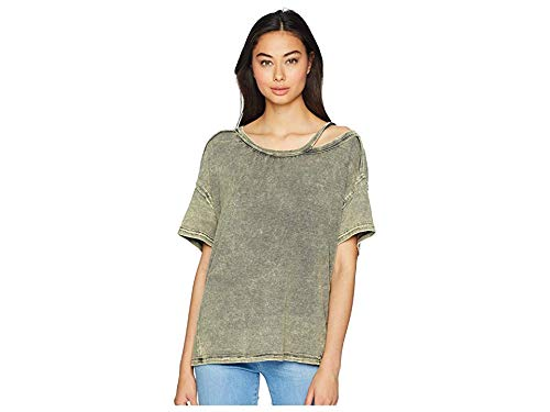 Free People Women's Alex Tee Army Large from Free People