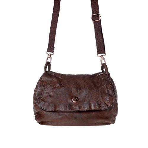 Dudu - Sac porté épaule - Timeless - Bag - Marron - Femme