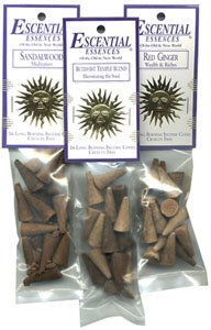 Purification (Sacred Cedar and Lavender) - Escential Essences Cone Incense - 16 Cone Package