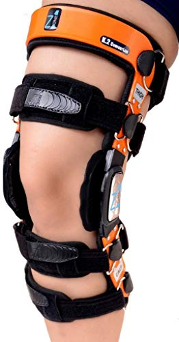 Braceit K2 ComfortLine Knee Brace (S16(THIGH=23-24.5″/CALF=15-16.5″)–Ideal for ACL/Ligament / Sports Injuries, Mild Osteoarthritis(OA) & for preventive protection from Knee Joint Pain/Degeneration