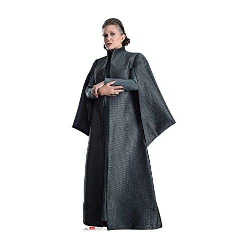 General Leia Organa   Star Wars  Episode Viii   The Last Jedi  2017 Film    Advanced Graphics Life Size Cardboard Standup