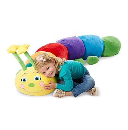 Melissa & Doug Plush Jumbo Caterpillar Stuffed Animal (63W x 18H x 17D in) from Melissa & Doug
