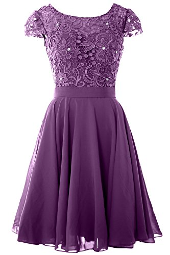 Formal Cap MACloth Lace Party Eggplant Women Dress of Bride Gown Sleeve the Mother Short Tvw5vq