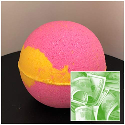 - Papaya & Mango (The Sugar Shak Collection) Luxurious C-Note Bath Bomb 7 oz Baseball Size (Papaya & Mango) / Handmade/Bath Fizzie/Surprise Money Bath Bomb/Surprise Gift For Her