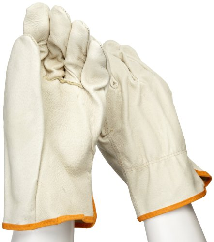 West Chester 994 Select Grain Pigskin Leather Driver Work Gloves: Straight Thumb, XXX-Large, 12 (Select Grain Leather)