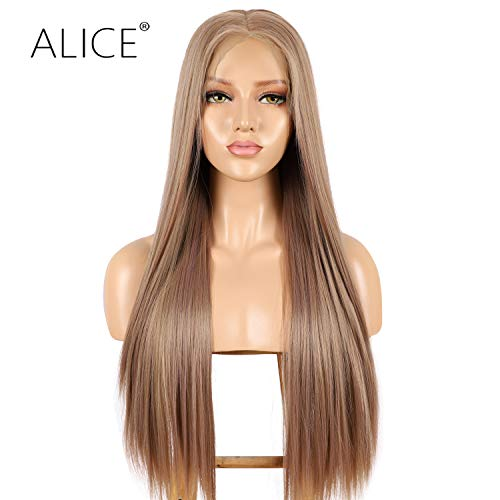 ALICE 13x6 Lace Front Brown Wig, 22