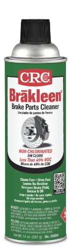CRC 05084 BRAKLEEN Brake Parts Cleaner - Non-Chlorinated - 14 Wt Oz