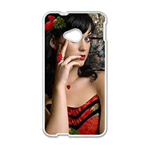 Elegant Red Women Fashion Comstom Plastic case cover For HTC One M7