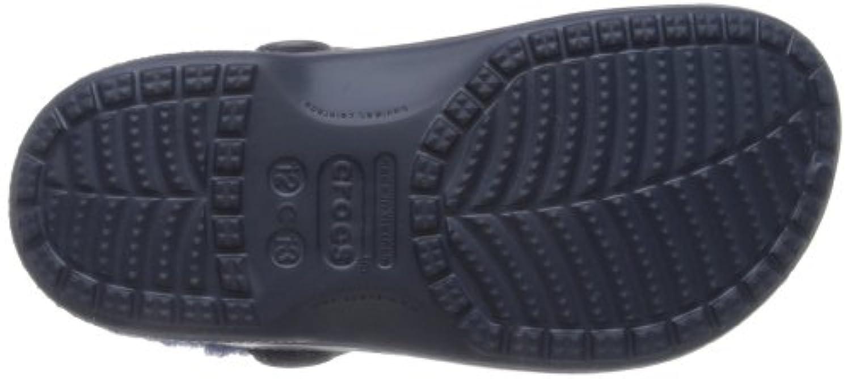 Crocs Baya Lined, Unisex-Child Clogs, Blue (Navy/Bijou Blue), 10/11 UK Child