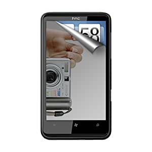 Amzer Mirror Screen Protector with Cleaning Cloth for HTC HD7