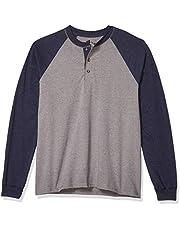 قميص بيفي هينلي باكمام طويلة للرجال من هانز