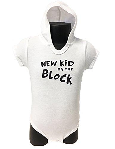 72 HOODIE BABY ROMPER SHORT SLEEVE ONESIE UNISEX FUNNY NEW KID GIFT POLY BAGGED A&G BRAND (18-24 Months, (Card Kids Sweatshirt)