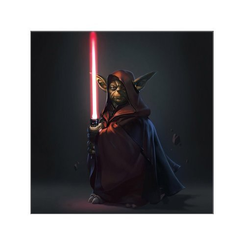 Scottshop Custom Yoda Star Wars Gallery Wrapped Canvas Print 16
