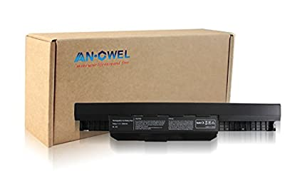 Angwel Replacement battery(Asus A32-K53) for Asus A53E A53S A43S A53Z K43BY K43E K43S K43T K53T A54C K53SV X53U X54H - 11.1V - 5200MAH from Angwel