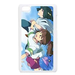 ipod 4 White phone case Disney Cartoon Spirited Away EYB1372066