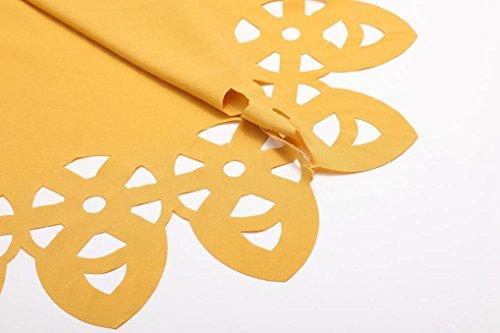 Magiyard Vestido mujer otoñ, Mujeres Vestido de Fiesta de Playa amarillo