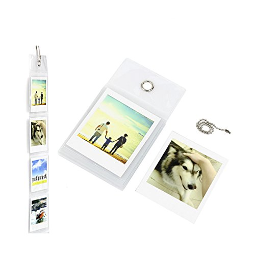 Price comparison product image Ngaantyun Wall Hanging Picture Images Album Photo Frame Set for Fujifilm Instax Share Sp-3 Square SQ10 SQ6 Mini Films