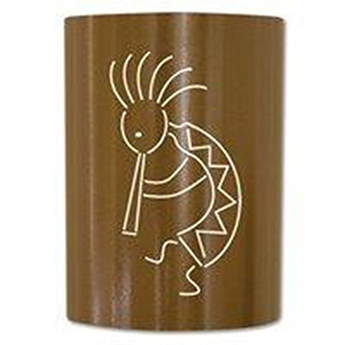 Jelly Jar Lighting KO-CB-003 Caramel Brown Finished Sconce with a Caramel Brown Shade