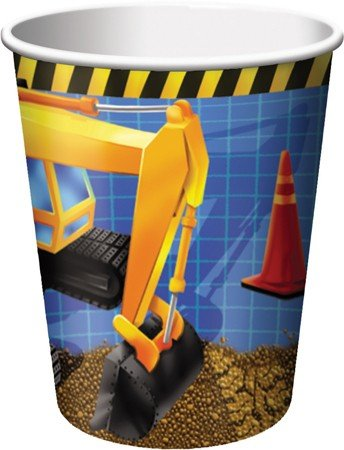 Factory Card and Party Outlet Under Construction Cups 8ct for $<!--$2.59-->