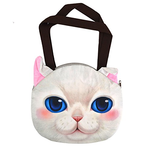 13 kb compras de para Cute bolsa cat Cat mujer Cat nbsp;Gafas White Pussy AISI bolsos sol tote de nbsp;– hombro cara Blue azul wxqHn06R