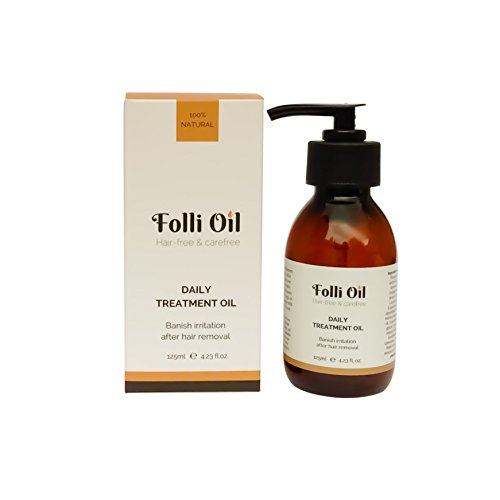 Folli Oil Daily Treatment Oil, natural remedy to prevent ingrown hairs