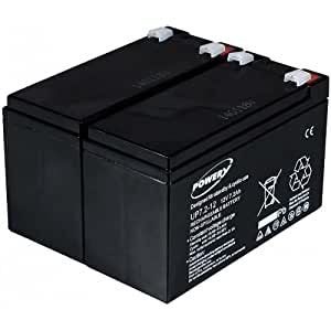 Powery Batería de GEL para SAI APC Smart-UPS 750