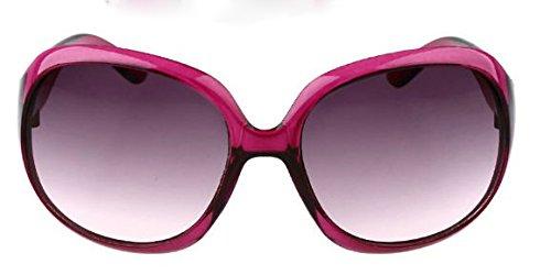 sol Gafas personalidad XLFF sol de grande de sol caja A gafas de protección cara de sol gafas gafas de Gafas de de B cara ultravioleta mujeres larga redonda las qvq4grU