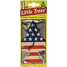 6 Pack Car Freshner 10945 Little Trees Air Freshener Vanilla Pride Scent - Single Tree per Package