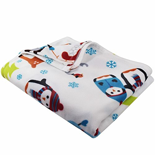 Clara Clark Snowman Throw Blanket