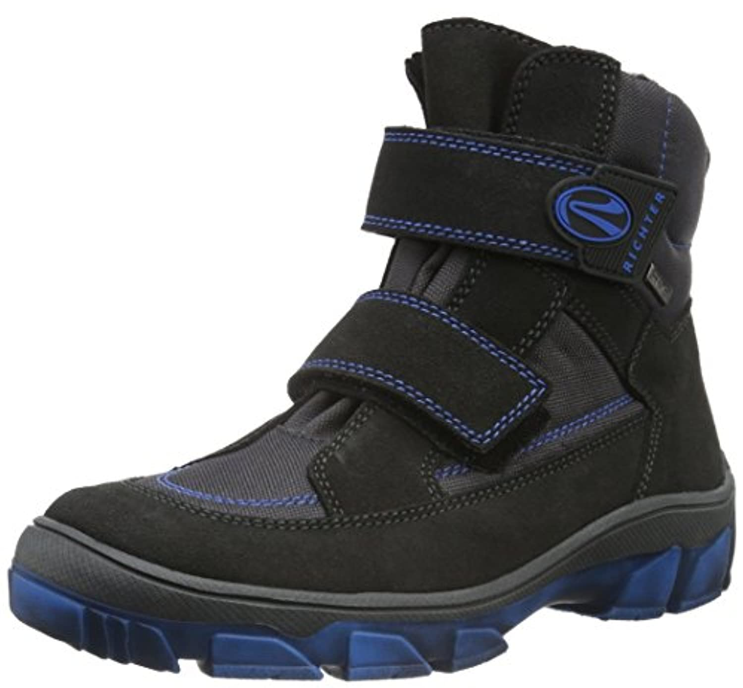 Richter Kinderschuhe Boys' Kite Warm-Lined Short-Shaft Boots and Bootees Blue Size: 1