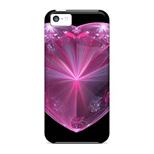 Cases Covers Valentine's Day Heart/ Fashionable Cases For Iphone 5c