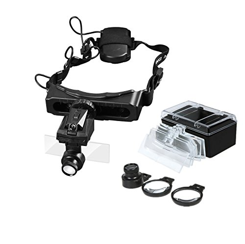 Headband Magnifier Repair Jeweler Illuminating product image