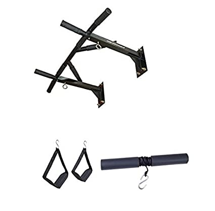 Buy home gym dynamics multi grip pull up with o hooks with arm